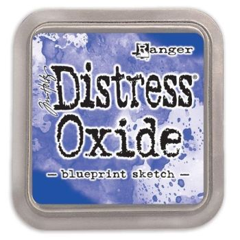 Tim Holtz Distress Oxide Pads Blueprint Sketch