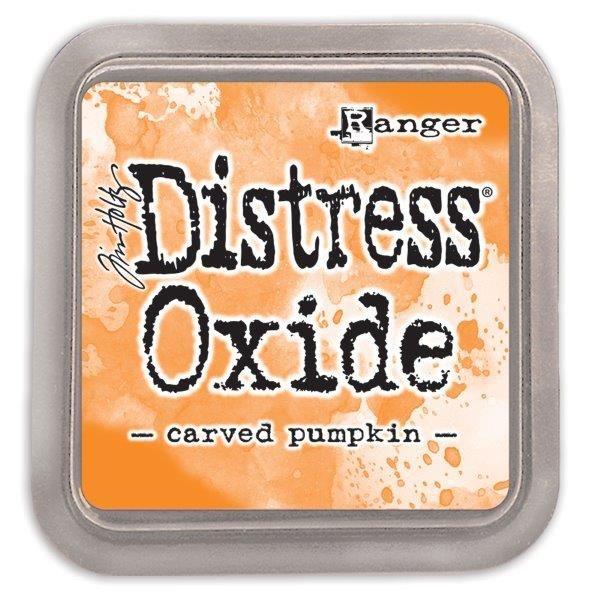 Tim Holtz Distress Oxide Pads Carved Pumpkin