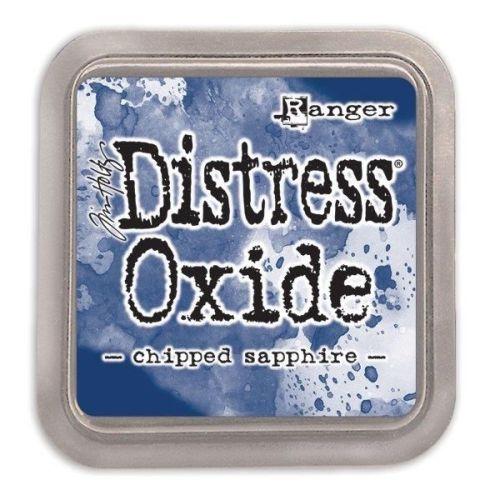 Tim Holtz Distress Oxide Pads Chipped Sapphire
