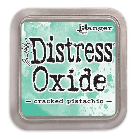 Tim Holtz Distress Oxide Pads Cracked Pistachio