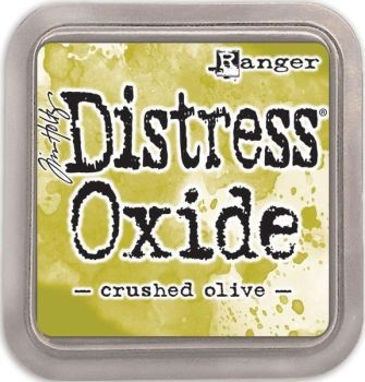 Tim Holtz Distress Oxide Pad Crushed Olive
