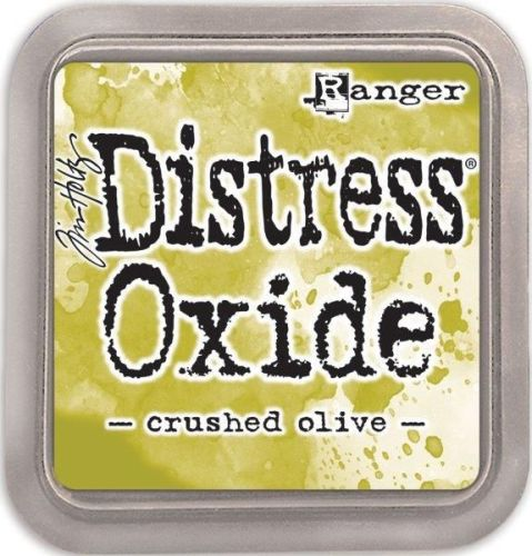 Tim Holtz Distress Oxide Pads Crushed Olive