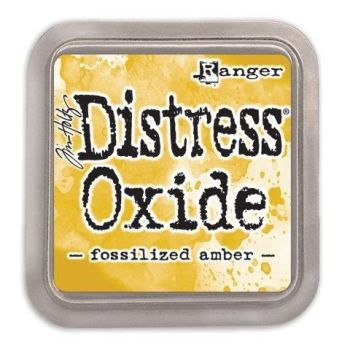 Tim Holtz Distress Oxide Pad Fossilized Amber