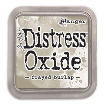 Tim Holtz Distress Oxide Pads Frayed Burlap