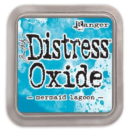 Tim Holtz Distress Oxide Pads Mermaid Lagoon