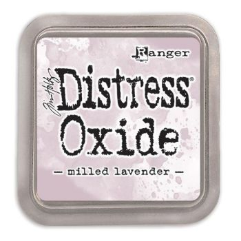 Tim Holtz Distress Oxide Pad Milled Lavender