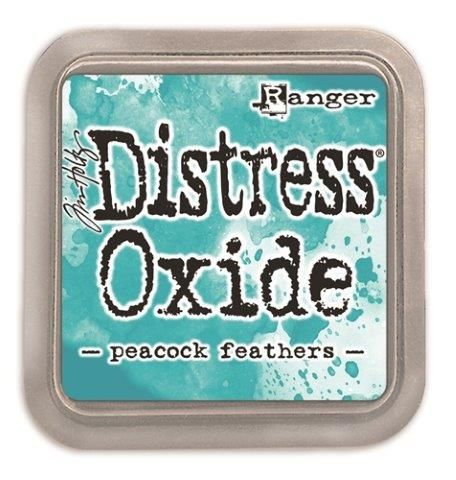 Tim Holtz Distress Oxide Pads Peacock Feathers