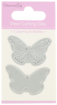 Dove craft - Layering butterflies die