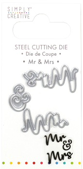 Simply creative - Mr & Mrs die
