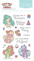 Be a unicorn clear stamp set - The Greeting Farm