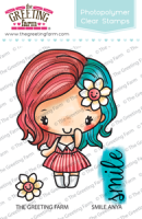 Smile Anya clear stamp set - The Greeting Farm