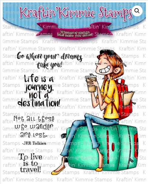 **NEW** Life is a journey clear stamp set