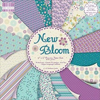 First Edition 6x6 FSC Paper Pad New Bloom