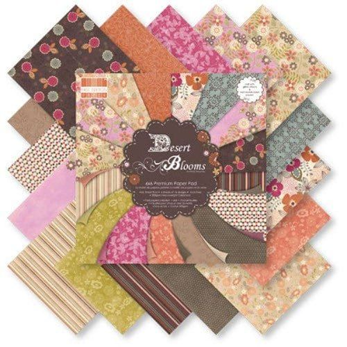 First Edition 6x6 FSC Paper Pad Desert Blooms