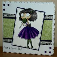 Lola Lollipop - Kraftin' Kimmie stamp