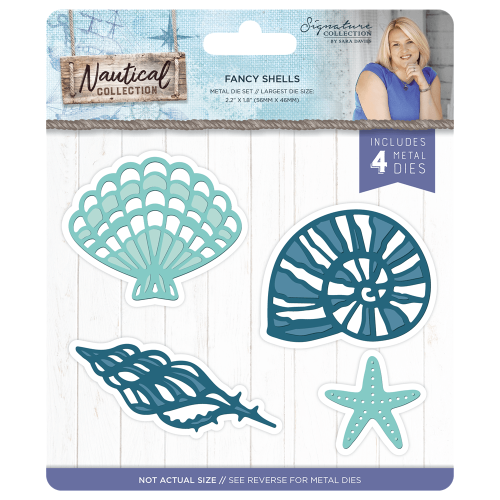 Sara Signature Collection Nautical - Metal Die - Fancy Shells