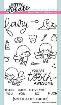 **NEW**Heffy Doodle - Absotoothly Awesome clear stamps