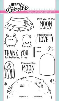 Heffy Doodle - You're Weird clear stamps