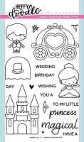 Heffy Doodle - Happily Ever Crafter clear stamps