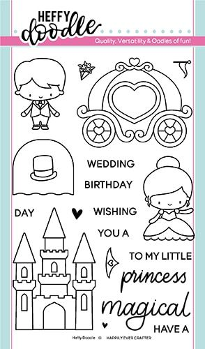 **NEW**Heffy Doodle - Happily Ever Crafter clear stamps