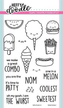 Heffy Doodle - Treat Yo'Self clear stamps
