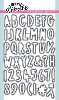 **NEW**Heffy Doodle Rascal Alphabetters dies
