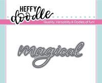Heffy Doodle - magical word die
