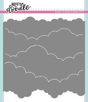 Heffy Doodle - Cloudy Skies stencil