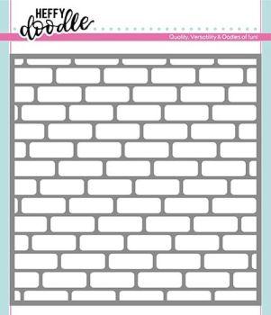 Heffy Doodle - Brick By Brick stencil