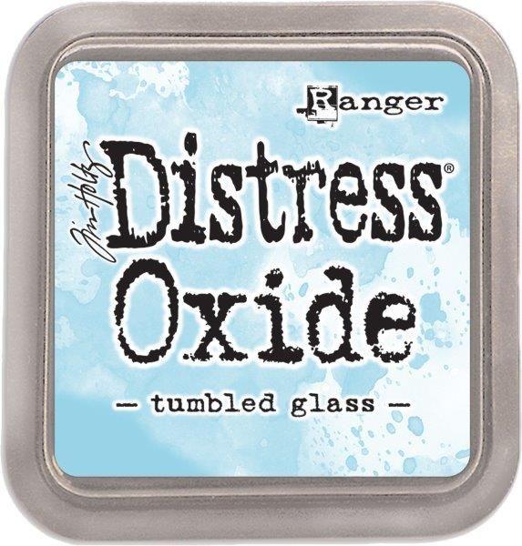 Tim Holtz Distress Oxide Pad Tumbled Glass