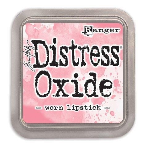 Tim Holtz Distress Oxide Pad Worn Lipstick