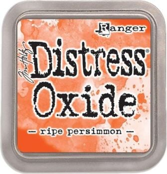 Tim Holtz Distress Oxide Pad Ripe Persimmon