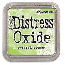 Tim Holtz Distress Oxide Pad Twisted Citron