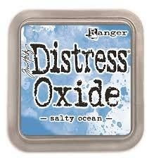 Tim Holtz Distress Oxide Pad Salty Ocean