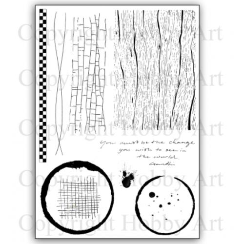Becki's Backgrounds A5 stamp set