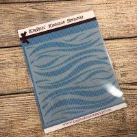 Wonderful Waves Stencil! - Kraftin' Kimmie
