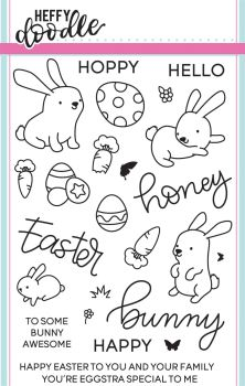 Heffy Doodle - Honey Bunny Boo clear stamps