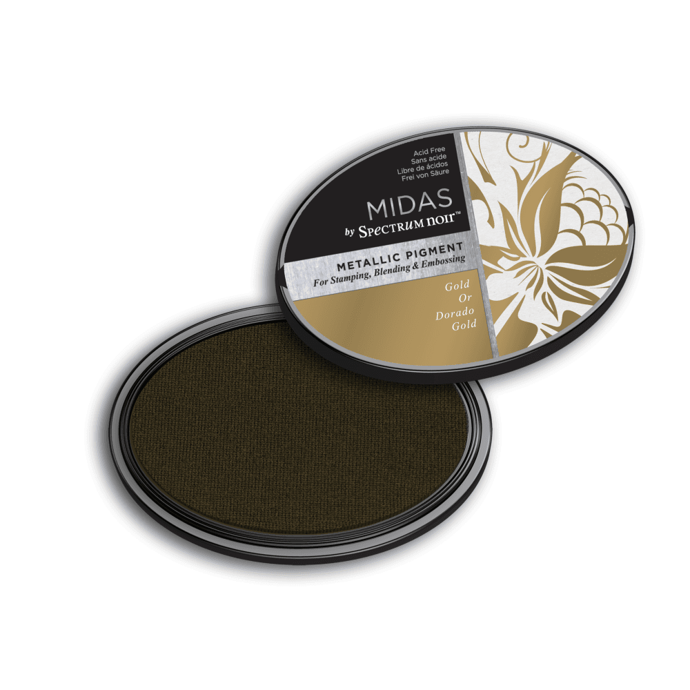 Spectrum Noir Inkpad - Midas Metallic - Gold