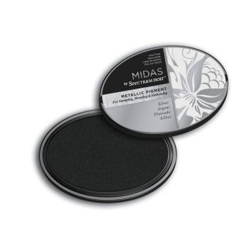 Spectrum Noir Inkpad - Midas Metallic - Silver