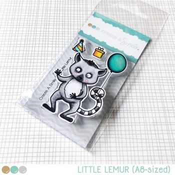 Create a smile - Little Lemur clear stamp