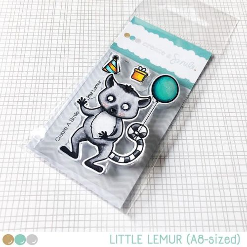 Cretate a smile - Little Lemur clear stamp