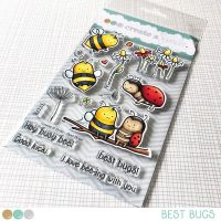 Create a smile - Best Bugs clear stamp