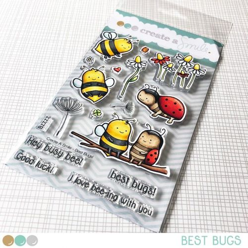 Cretate a smile - Best Bugs clear stamp