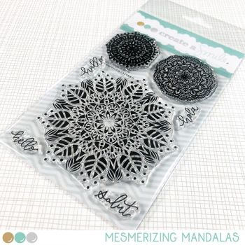 Create a smile - Mesmerizing Mandalas clear stamp