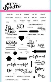Heffy Doodle - Interactively Yours clear stamps