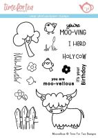 Time For Tea - Moovelous Clear Stamp Set