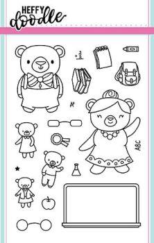 Heffy Doodle - Teachers Pet clear stamps