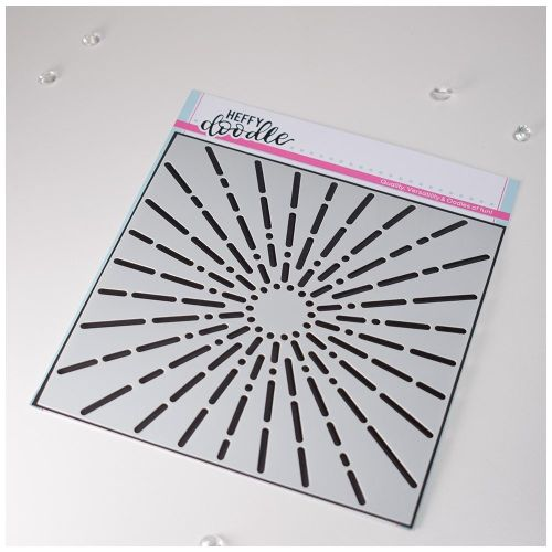 **NEW**Heffy Doodle Simply Radiant stencil