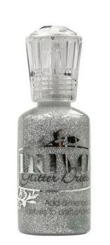 Nuvo - Glitter Drops - Silver Moondust