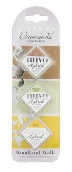 Nuvo - Diamond Hybrid Ink Pads - Woodland Walk